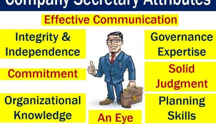 Company secretary - eight attributes image