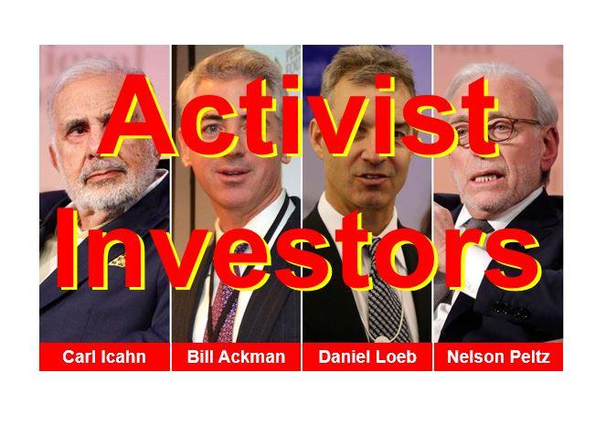 Activist investors thumbnail