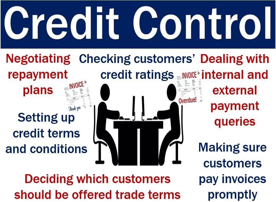 Credit Control - image explaining what it is