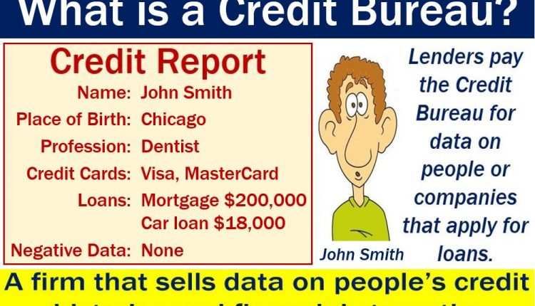 Credit bureau definition and meaning market business news for Bureau meaning