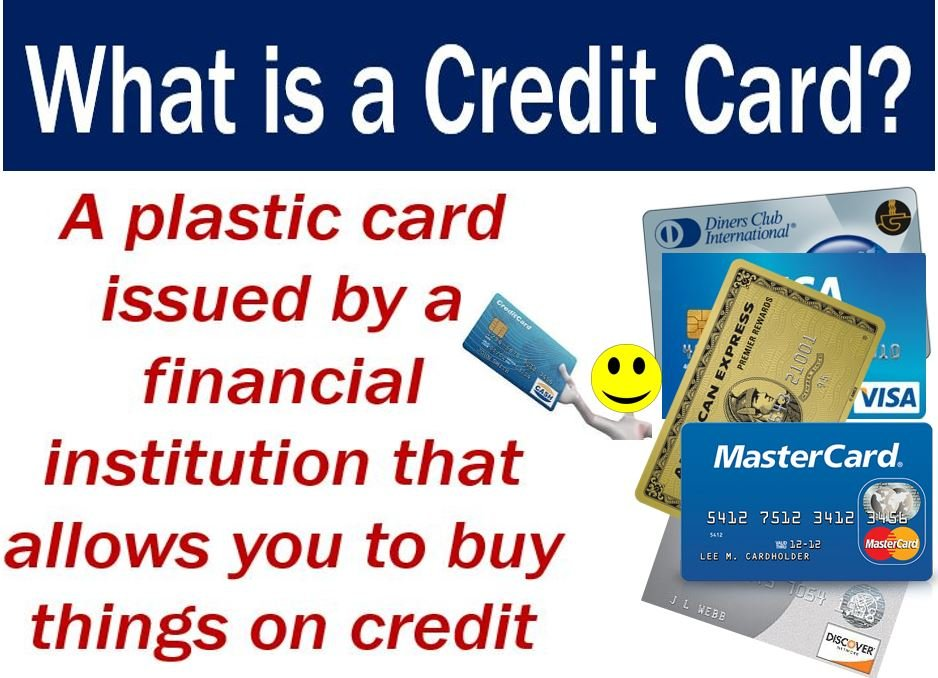 Credit Score Check >> Credit card - definition and meaning - Market Business News