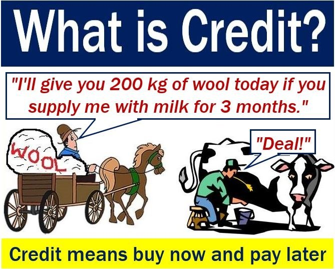 Credit - meaning and example