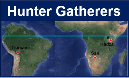 Hunter Gatherers map