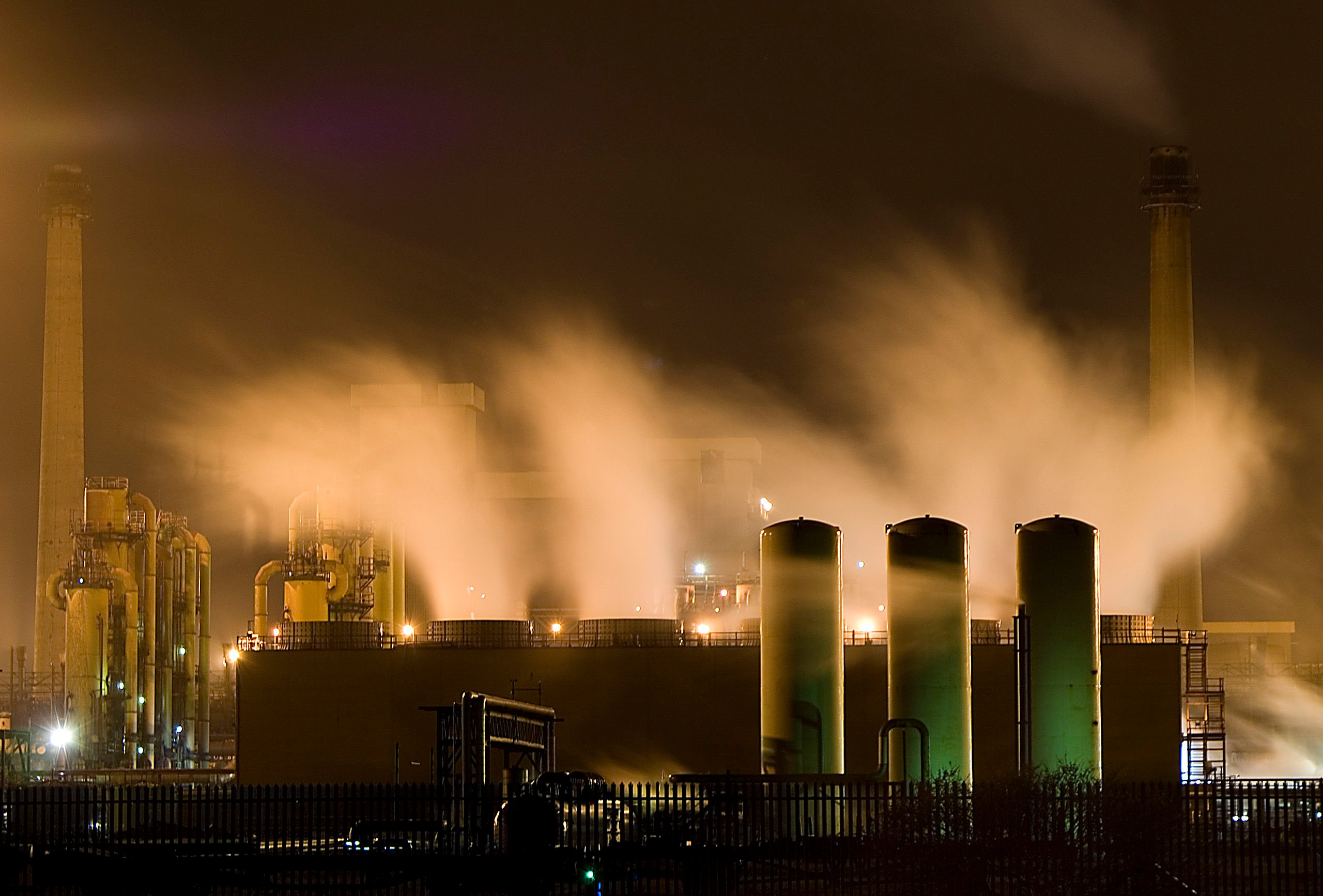 Redcar_Steelworks_at_Night