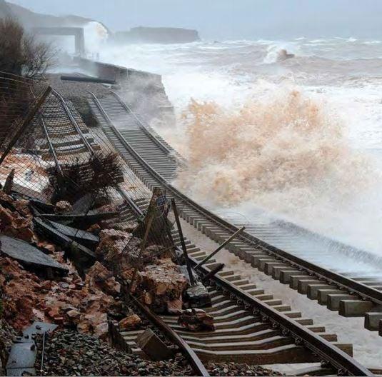 British coast at risk