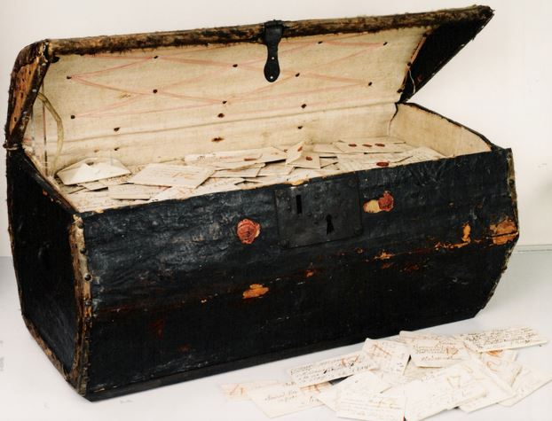 Undelivered 17th century letters
