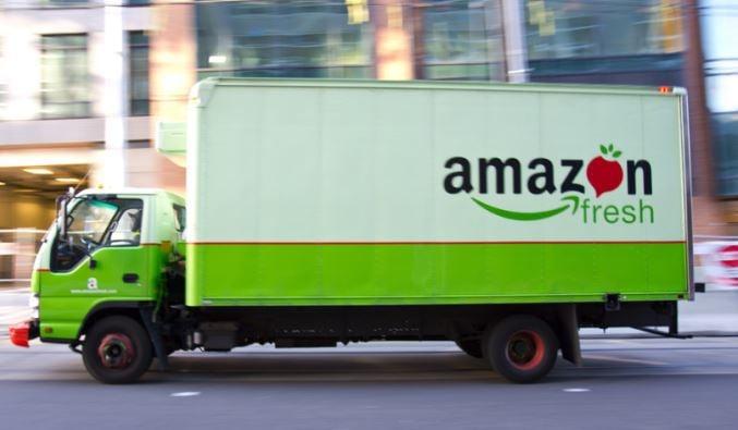 Amazon Fresh van