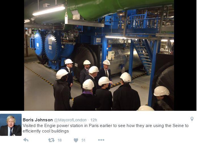 Boris Johnson twitter