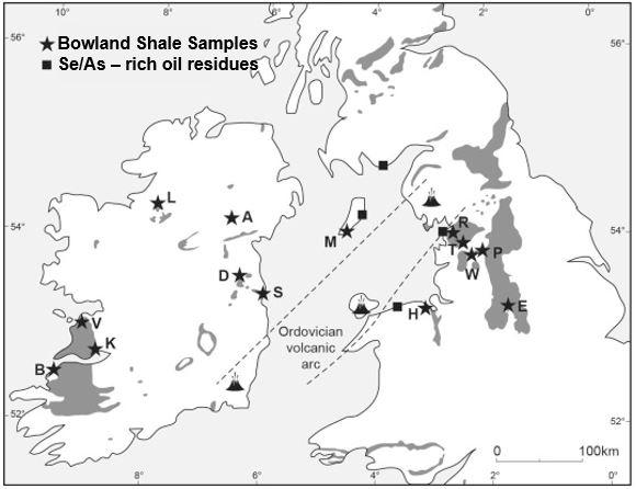 Bowland Shale samples