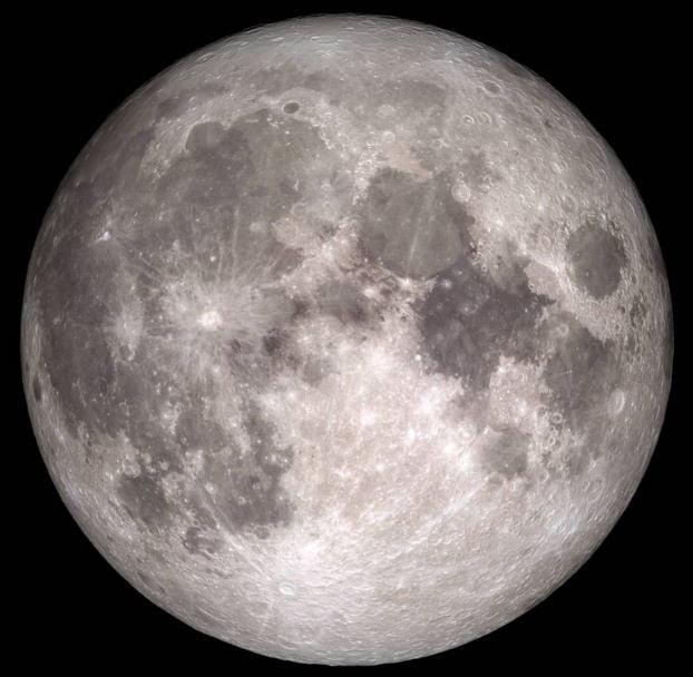 Christmas Full Moon according to NASA