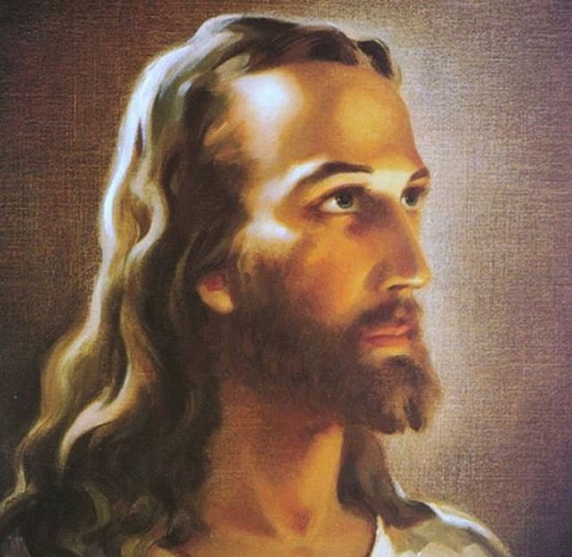 Jesus Christ painting by Warner Sallman
