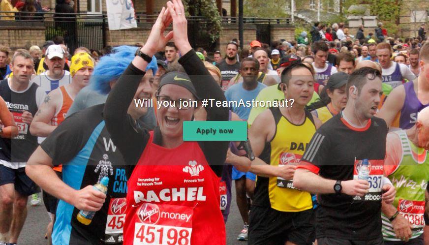 Join Princes Trust London Marathon team