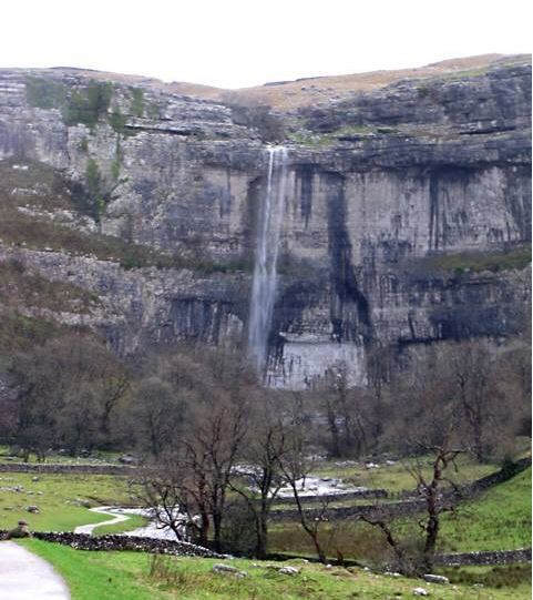 Malham Cove waterfall resurrected