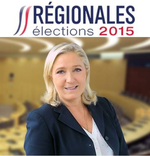 Marine Le Pen French Regional Elections