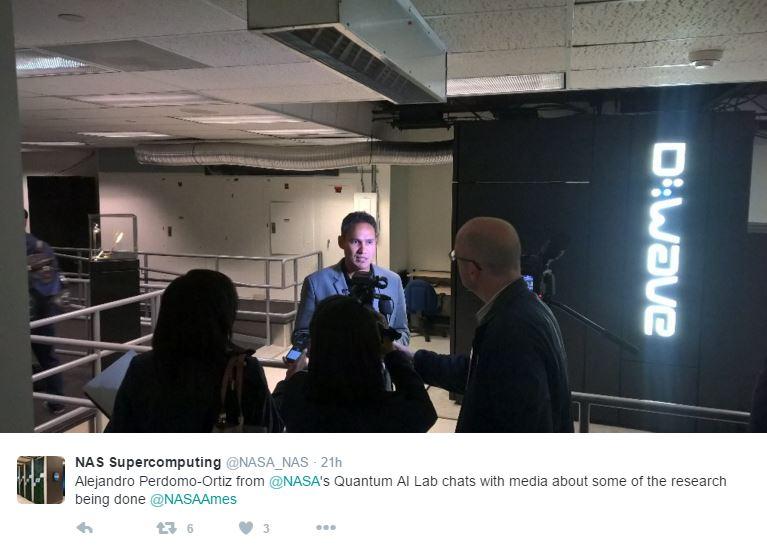 Quantum Computer center opened to media