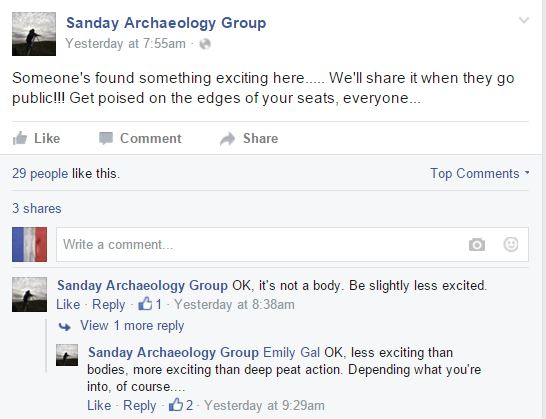 Sanday Archaeology Group