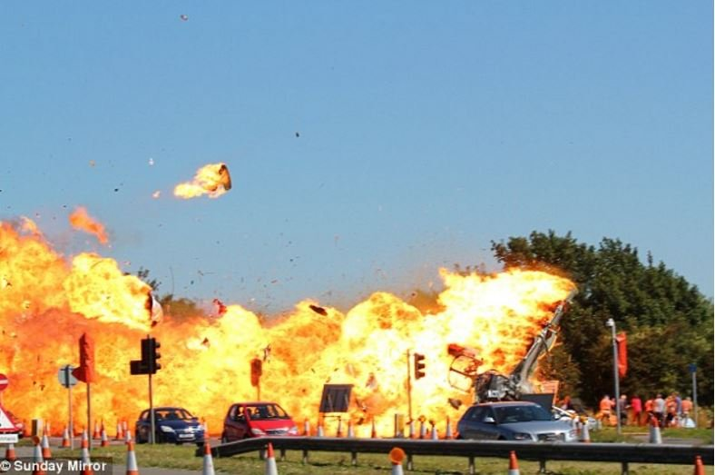 Shoreham jet crash that killed 11 people