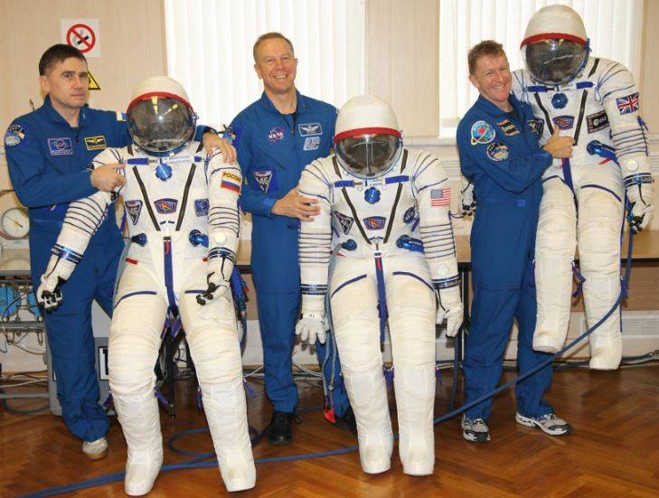 Spacemen and their space suits
