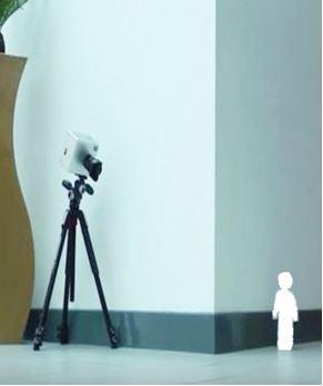 Super fast camera can see around corners