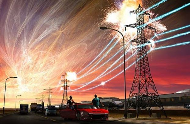 solar superflare effect on electrical grid