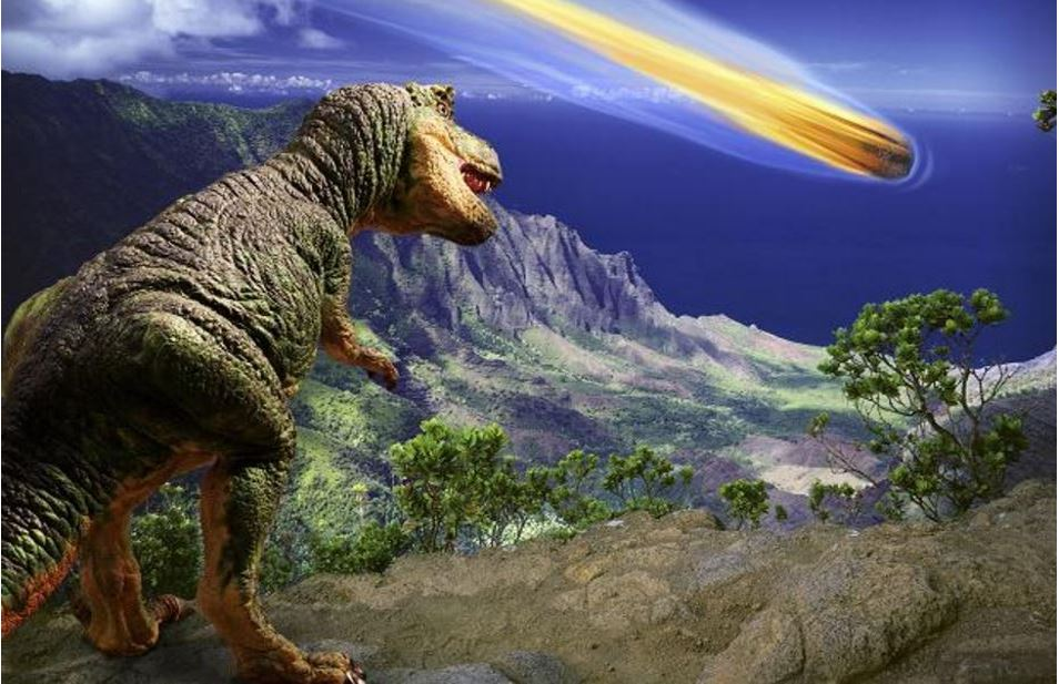 Asteroid that wiped out the dinosaur