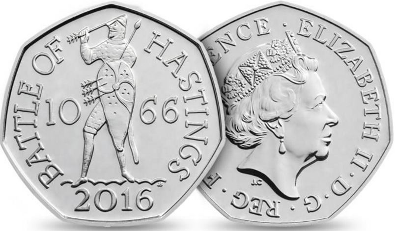 Battle of Hastings New Coin