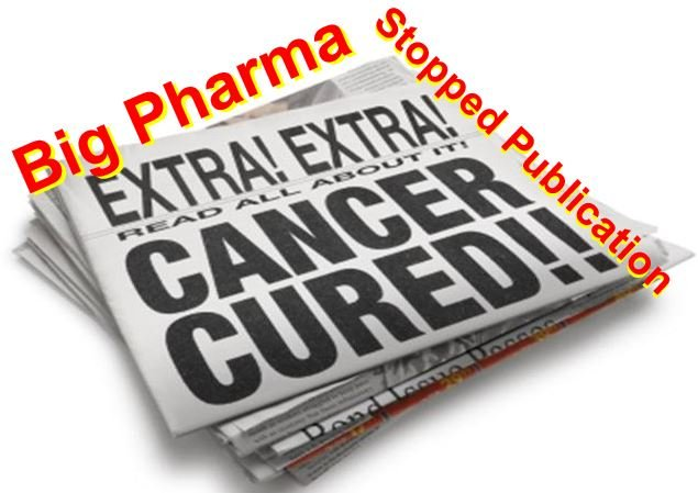 Big Pharma suppresses cure for cancer