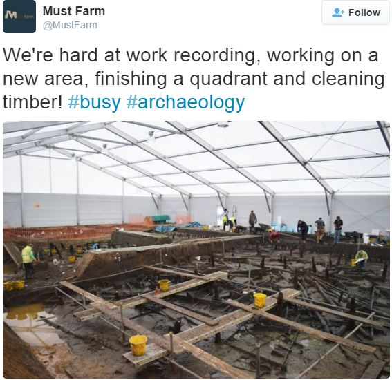 Bronze Age homes at Must Farm archaeological site
