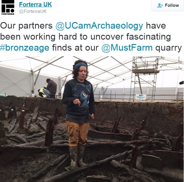 Bronze Age homes charred remains at excavation site