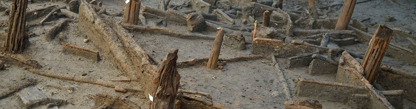 Bronze age homes extremely well preserved