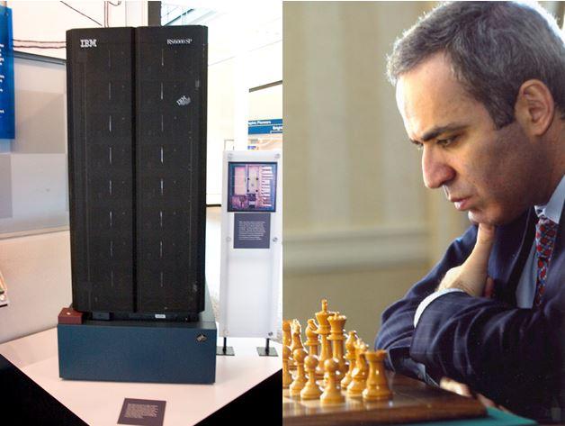 IBM computer beats Kasparov at chess