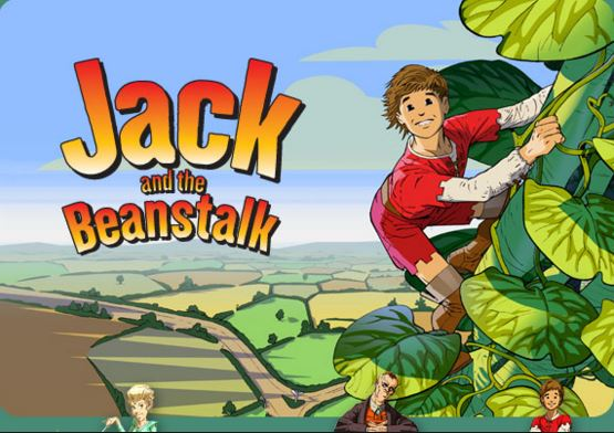 Jack and the beanstalk fairy tale