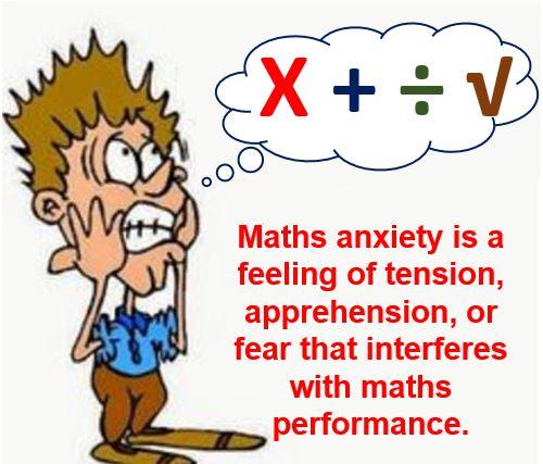 Maths anxiety