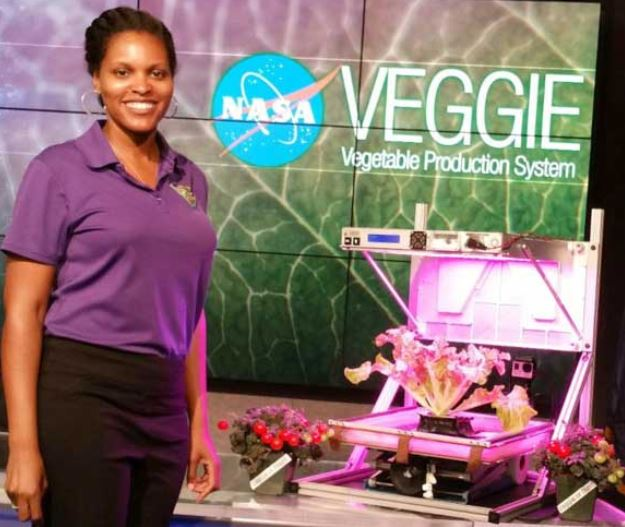 NASA has been growing plants in space for years
