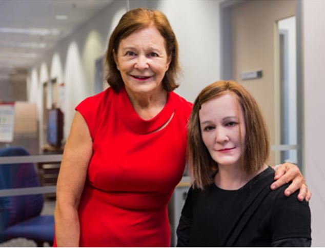 Nadine the socially intelligent robot remembers everything you say