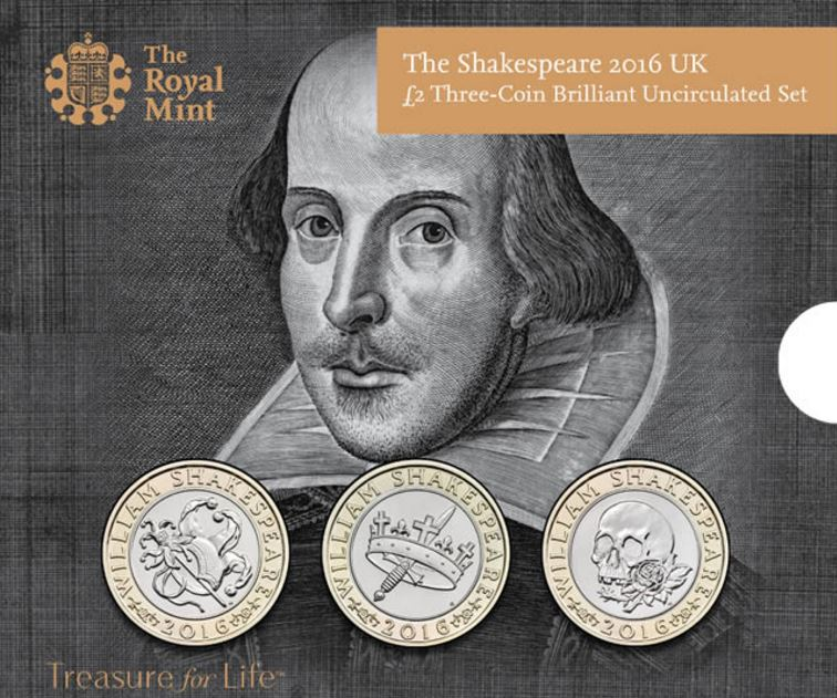 New Coins William Shakespear