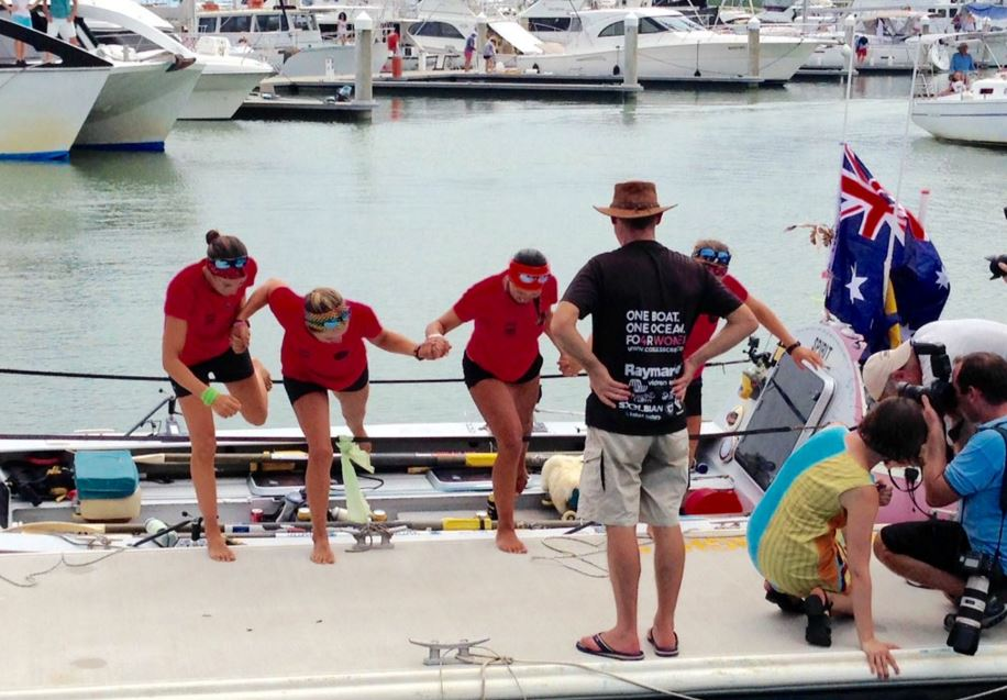 The Coxless Crew make it to Australia