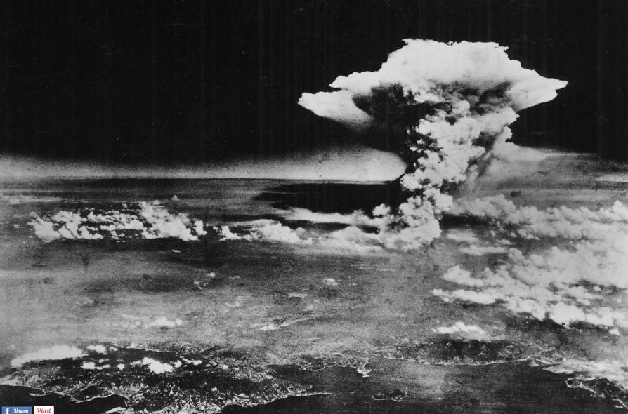 The Hiroshima bomb 1945 perhaps beginning of Anthropocene