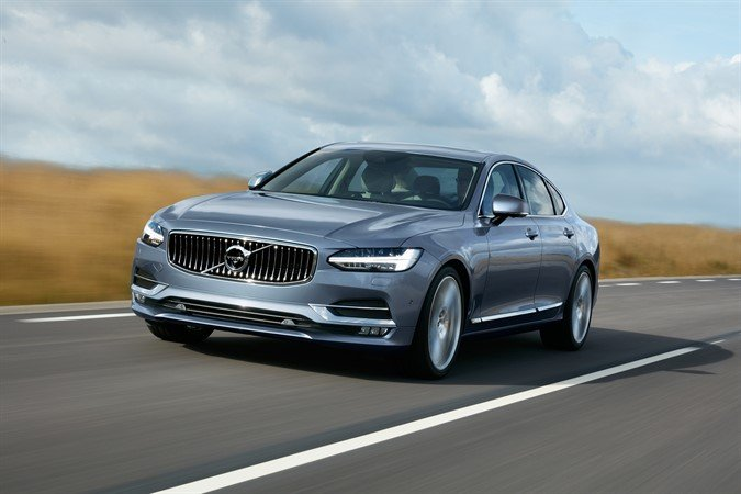 Volvo S90 Mussel Blue