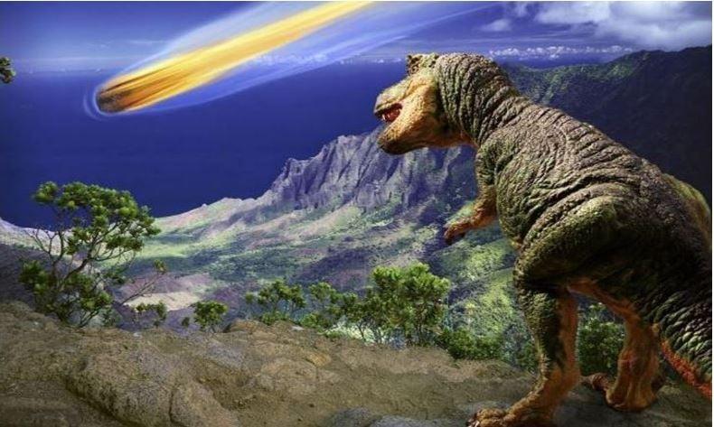 Yucatan meteor that destroyed the dinosaur