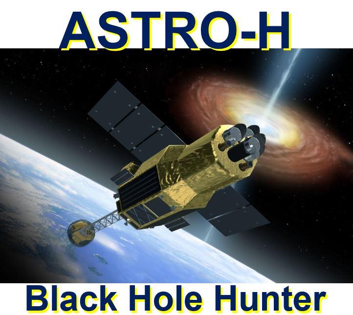 ASTRO-H Japanese satellite