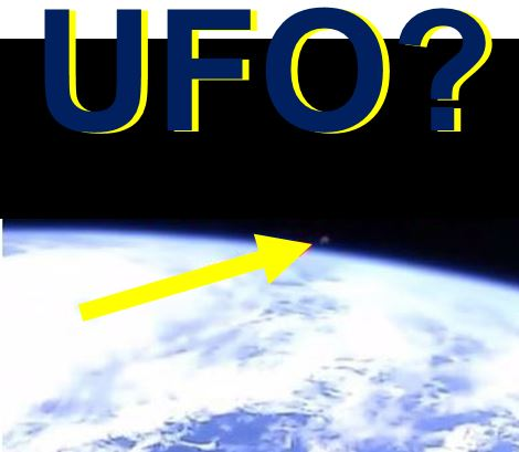 As soon as this UFO appeared on the live feed NASA cut the broadcast