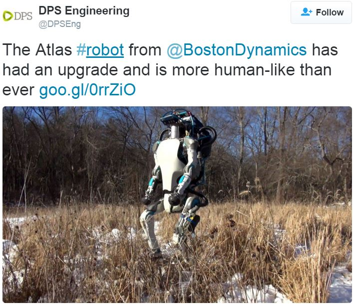 Atlas Robot impresses engineers