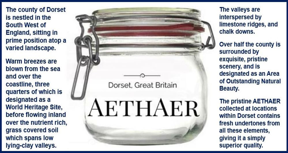 Bottled British air advert