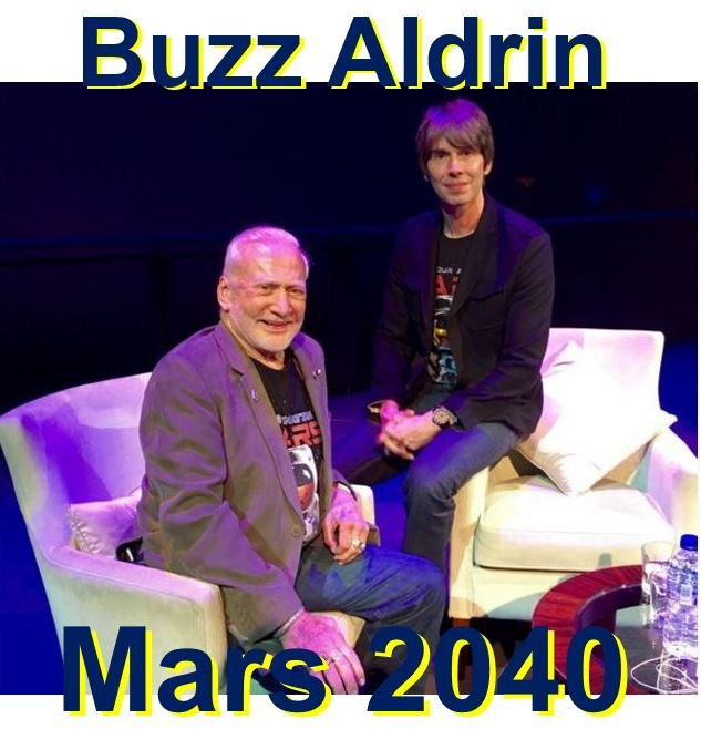 Buzz Aldrin Mars by 2040 easy part