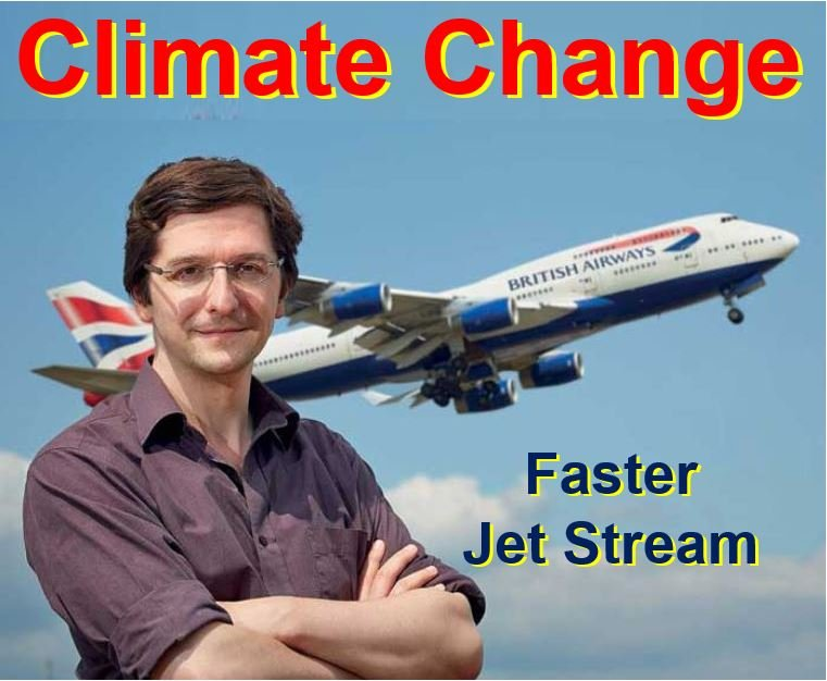 Climate change will affect flight times