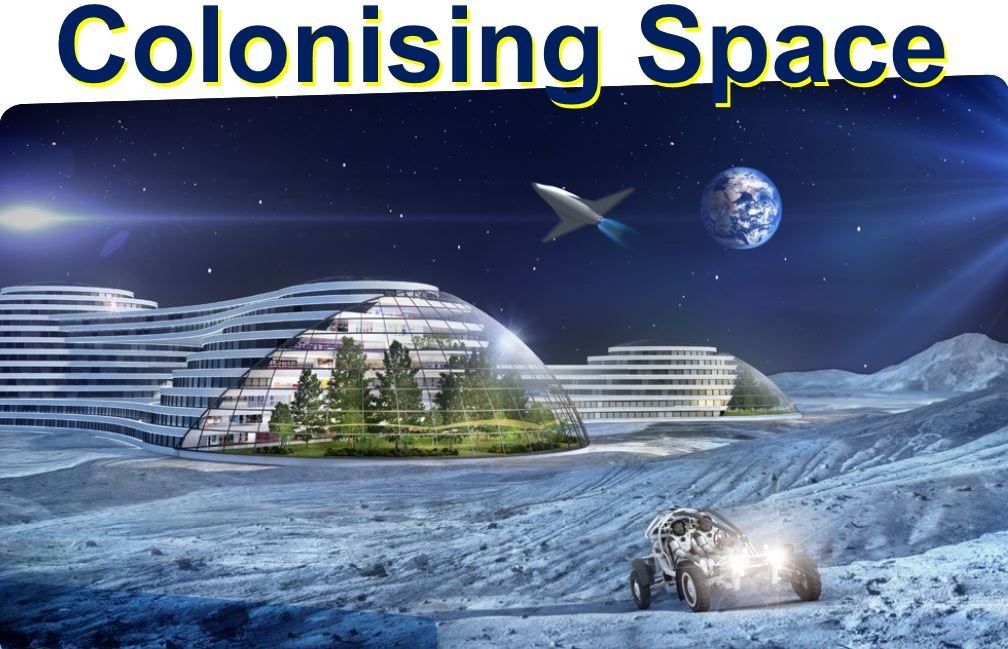 Colonising Space