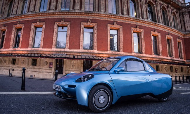 The Rasa - the new hydrogen powered car by Riversimple