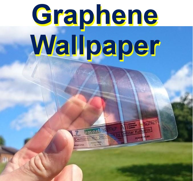 Graphene wallpaper