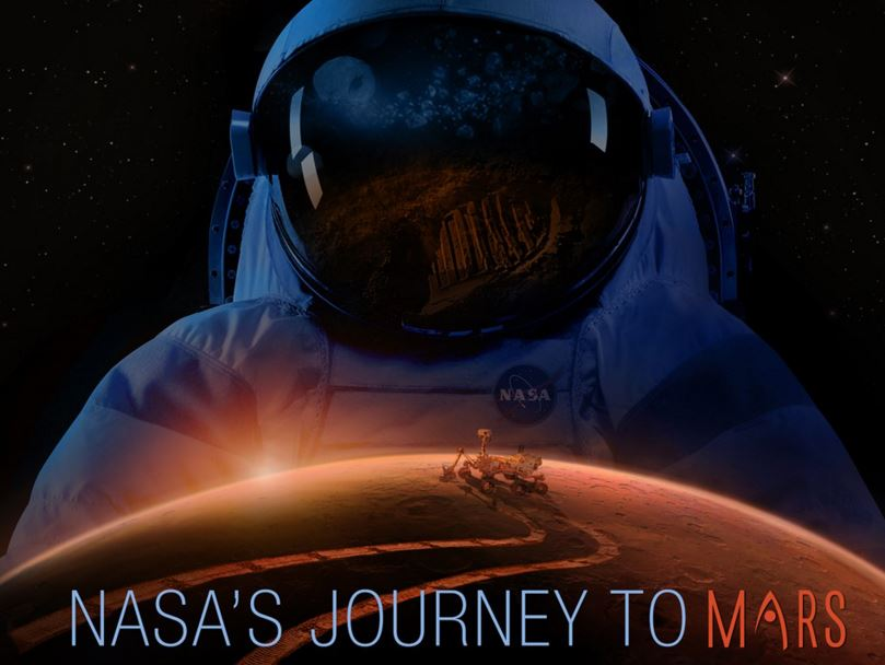 Map of Mars for future missions to Mars